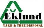 logo of eklund yard tree & disposal